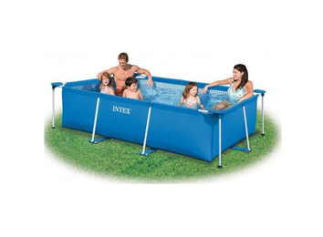 Бассейн каркасный Intex Rectangular Frame Pool, 260x160x65 см.