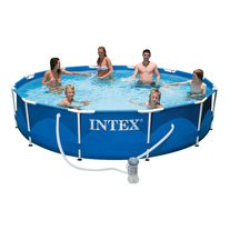 Бассейн каркасный Intex Metal Frame, 366х76 см.