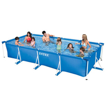 Бассейн каркасный Intex Rectangular Frame Pool, 450х220х84 см.